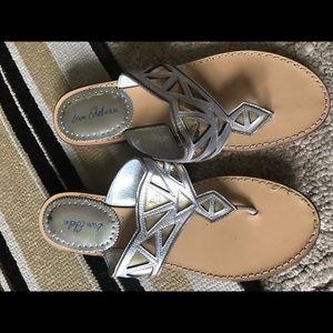Sam Edelman Silver Sandals